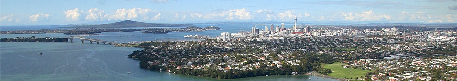 Auckland New Zealand Panarama