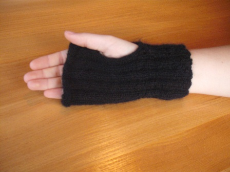 Simple to make wrist warmers